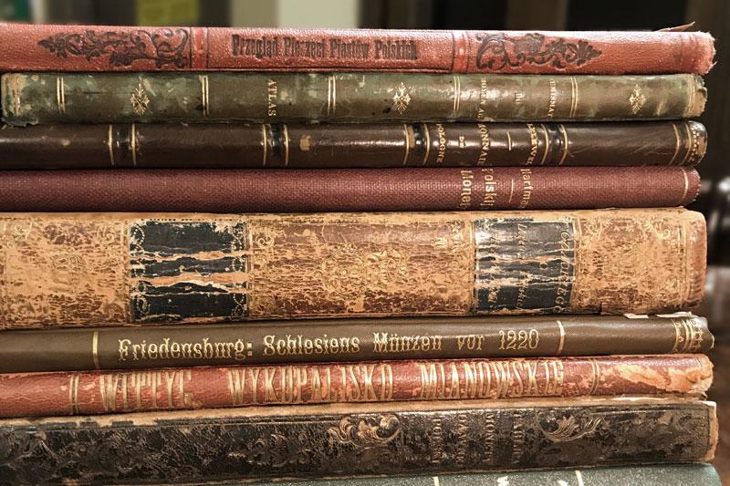 biblioteczka numizmatyka